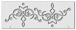 Schablonen Für Die Wand : wandschablonen bord re 2 schablono ~ Watch28wear.com Haus und Dekorationen