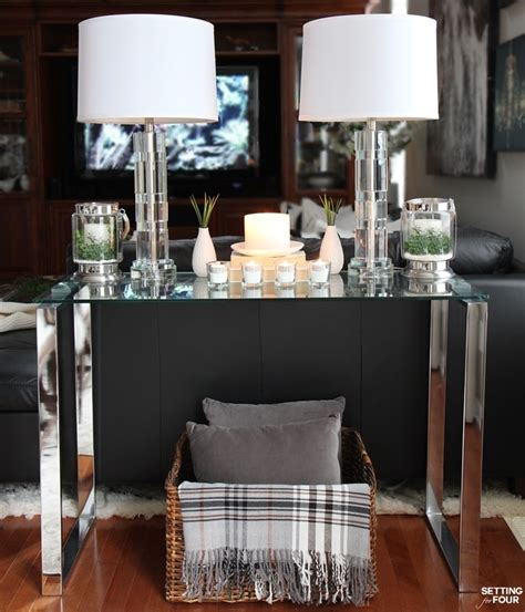sofa table decor ideas 5 tips to decorate accent tables like a pro setting for