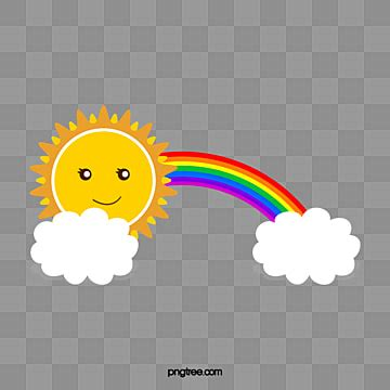 rainbow png images vector  psd files