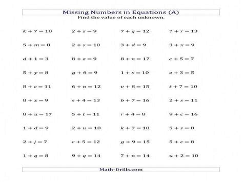 literal equations worksheet algebra 1 with answers