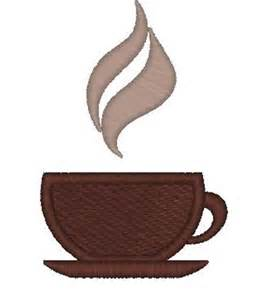 Free Machine Embroidery Designs Coffee Cup