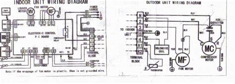 solucionado diagrama electrico de targeta de split panasonic aire acondicionado yoreparo
