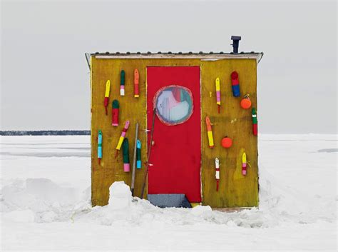 fly si鑒e social portraits of canada s fishing huts travel smithsonian
