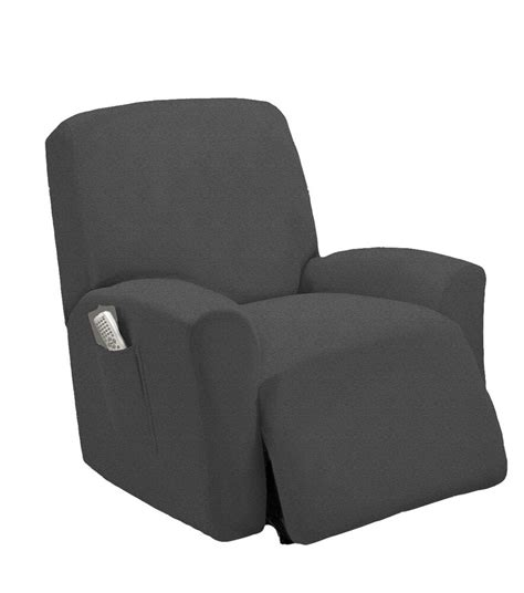 Slipcover For Loveseat Recliner by Stretch Fit Gray Recliner Slipcover Chair Slip Cover