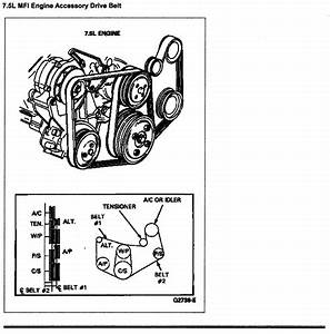 I Need A Belt Routing Diagram For A 1987 F