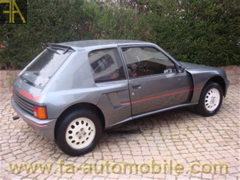Peugeot 205 T16 For Sale by Peugeot 205 T16 For Sale Fa Automobile