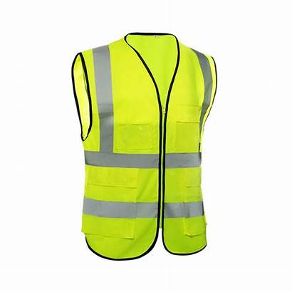 Vest Safety Reflective Construction Protective Polyester Clothing