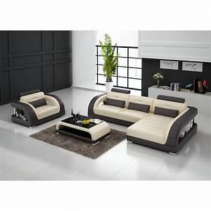 canape d39angle en cuir pleine fleur enzo fauteuil pop With canapé d angle compact