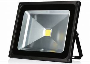 Energy efficient outdoor flood lights march