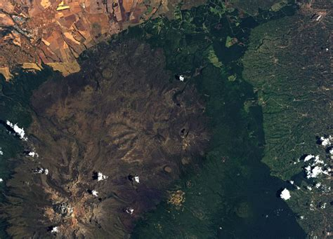 Earth From Space Mount Kenya Spaceref