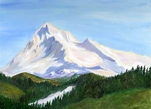 Snowy mountains by Shells124 on DeviantArt