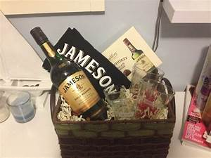 Raffle Box Ideas Jameson Whiskey Basket Perfect 39 S Day Gift For