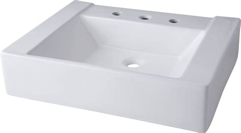 are mirabelle sinks mirabelle mir24198awh white 24 quot porcelain console bathroom