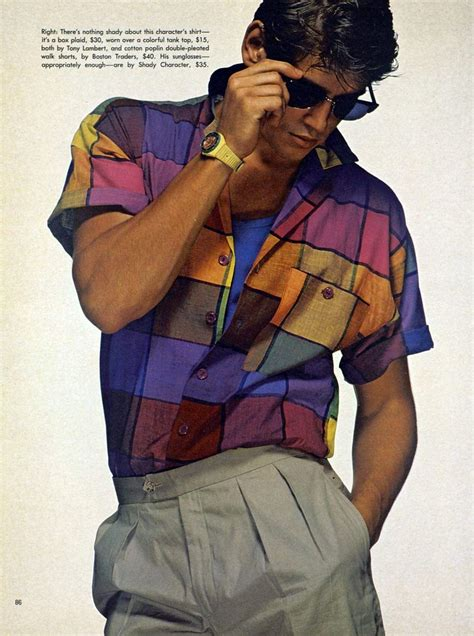 80s Vintage Fashion. Colorful printed and patterned clothing were very popular. | Chapter 19 ...