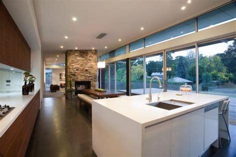 cocinas modernas  comedor amplios ventanales isla