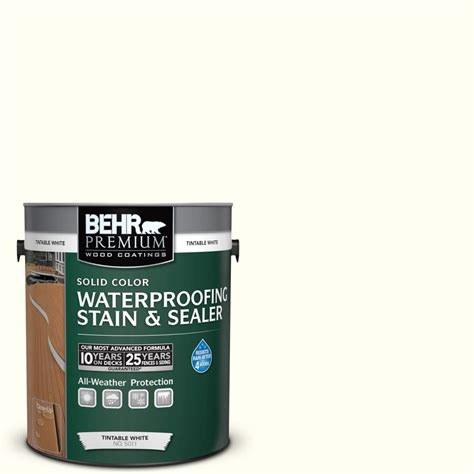 Behr Premium Deck Stain Application by Behr Premium 1 Gal Sc 337 Pinto White Solid Color