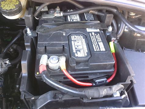 batterie ford focus battery relocation to trunk big 3 upgrade build thread