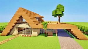 Maison Dans Minecraft. minecraft maison en bois facile l 39 ...