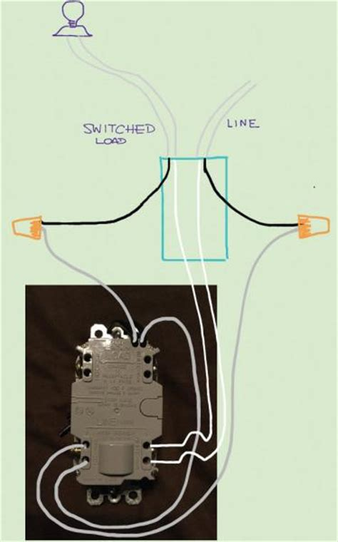 wiring  gfci combo switchoutlet