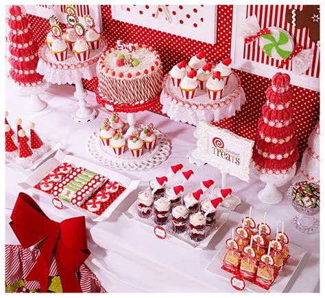 amanda s parties to go candy christmas dessert table