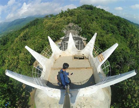 lokasi  rute menuju gereja ayam magelang spot wisata
