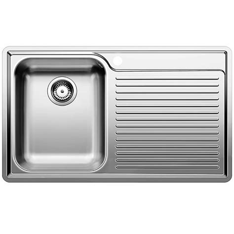 blanco stainless steel kitchen sinks blanco classic 45 s if stainless steel sink 7921