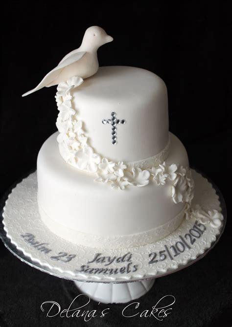 delanas cakes dove confirmation cake