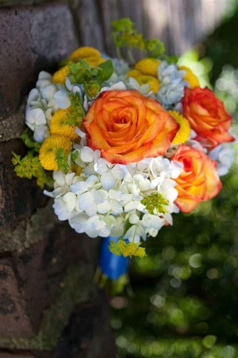 23 Best Images About Ivory Blue Orange Wedding On