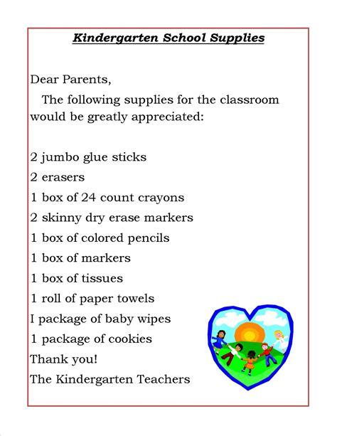 rising pre schoolers school supplies list ridge street
