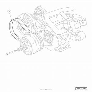 Husqvarna Huv 4210 Gxp  2006-11  Parts Diagram For Drive Belt