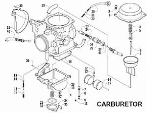 Polaris Sportsman 500 Carburetor Diagram