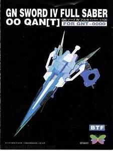 Add On  Gn Sword Iv Full Saber For Gundam 00 Quanta Mg