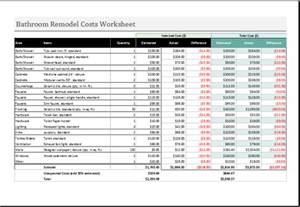 Renovation Spreadsheet 20 Editable Worksheet Templates For Everyone 39 S Use Document Hub