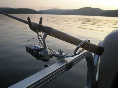 Fishing Rod Holders For A Pontoon Boat by Pontoon Boat Adjustable Fishing Rod Holders Gifts By Kaz