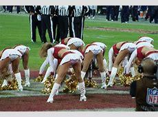 San Francisco 49ers Cheerleaders at Wembley Stadium Flickr