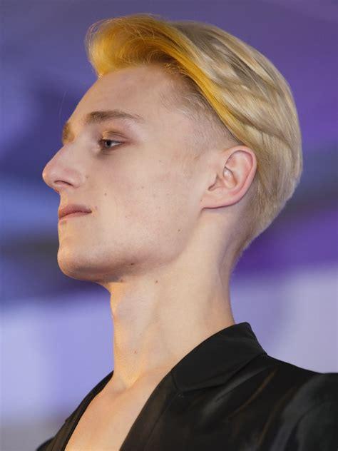 modern club hairstyle  men  short  long hair