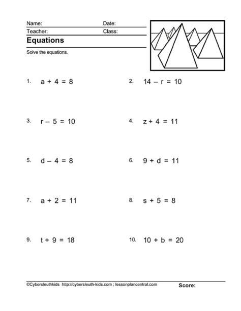 patterns  equations worksheets tessshebaylo