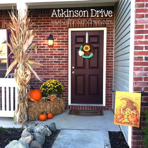 Outside Decoration Ideas - outdoor fall decor atkinson drive