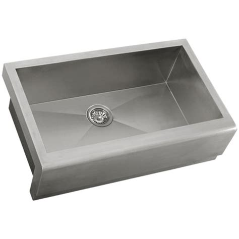 16 stainless steel kitchen sink ticor s4407 33 quot apron farmhouse 16 stainless steel 8965