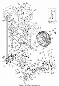 Mtd 13ag601h729  2005  Parts Diagram For Drive