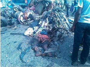Dead Bodies Everywhere! Fatal Accident Kills Many In ...