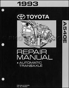 1993 Toyota Camry Wiring Diagram Manual
