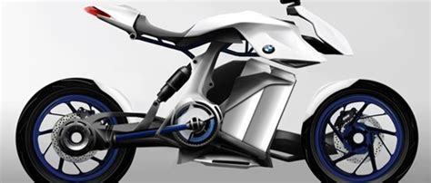 fuel cell powered bmw bike concept revealed fast company