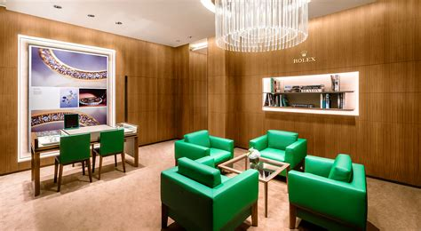 rolex opens expansive boutique  singapore featuring
