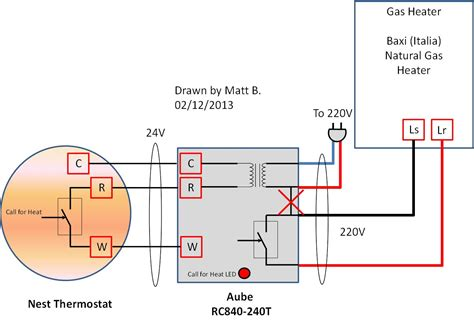 baci wiring proposed 20130212 inclusive of power supply termostati elettronici using nest