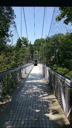 suspension bridge ithaca ny address attraction