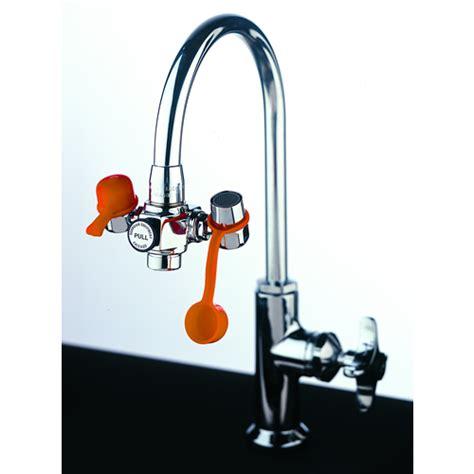 eyewash faucet attachment canada eyesafe faucet mounted eyewash