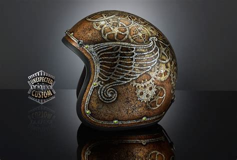 Custom Motorcycle Helmet Steampunk 1, Uc 70shell