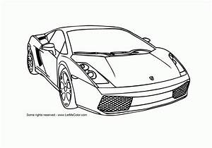 Sports Cars Coloring Pages Free Large Images Coloring