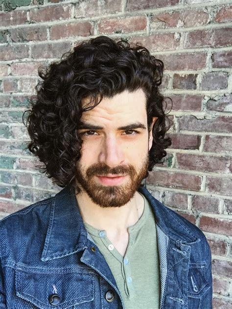 male curly hair inspiration medium length hair
